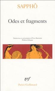 Sappho - Odes et fragments - Edition bilingue.