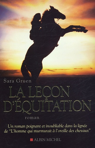 Sara Gruen - La leçon d'équitation.