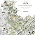 Sara Muzio - Wa Harmonie japonaise - Desins à colorier anti-stress.