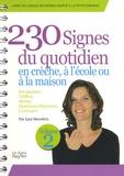 Sara Névoltris - 230 signes du quotidien en crèche, à l'école ou à la maison - Volume 2.