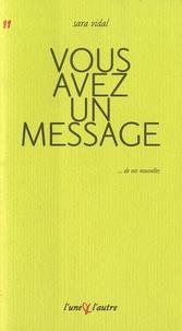 Sara Vidal - Vous avez un message.