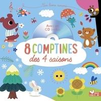 Sarah Andreacchio et Véronique Petit - 8 comptines des 4 saisons. 1 CD audio