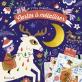 Sarah Andreacchio - Cartes à métalliser Noël.