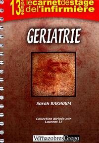 Sarah Bakhoum - Gériatrie.