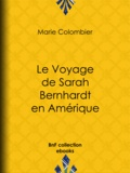 Sarah Bernhardt et Edouard Manet - Le voyage de Sarah Bernhardt en Amérique.