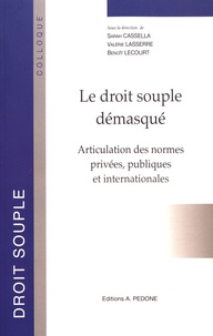 Checkpointfrance.fr Le droit souple démasqué - Articulation des normes privées, publiques et internationales Image