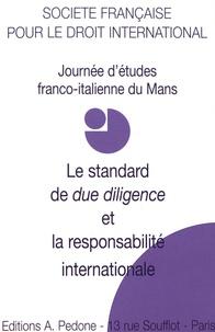 Le standard de due diligence et la responsabiblité internationale - Journée détudes du Mans.pdf