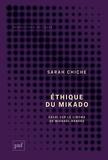 """Sarah Chiche - Ethique du mikado - Essai sur le cinéma de Michale Haneke suivi de """"Tuer plus doucement"""", un entretien avec Michael Haneke."""