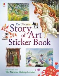 Sarah Courtauld - Story of art sticker book.