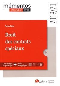 Sarah Farhi - Droit des contrats spéciaux.