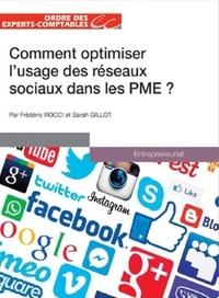 Sarah Gillot - Comment optimiser l'usage des réseaux sociaux dans les PME ?.