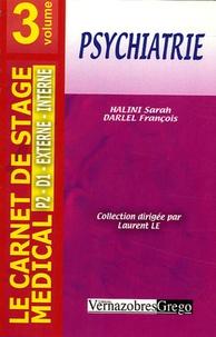 Sarah Halimi et François Darlel - Psychiatrie.