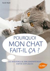 Accentsonline.fr Pourquoi mon chat fait-il ça ? Image