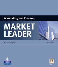 Histoiresdenlire.be Market leader ESP book : Accounting and finance Image