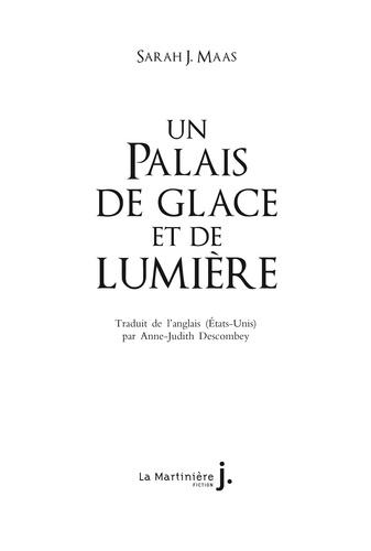 Un palais d'épines et de roses Tome 4 Un palais de glace et de lumière