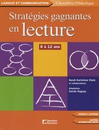 Deedr.fr Stratégies gagnantes en lecture - 8 à 12 ans Image