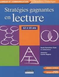 Deedr.fr Stratégies Gagnantes en lecture - 12 à 15 ans Image