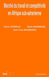 Sarah Marniesse et Denis Cogneau - .