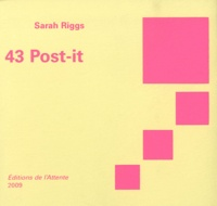 Sarah Riggs - 43 Post-it.