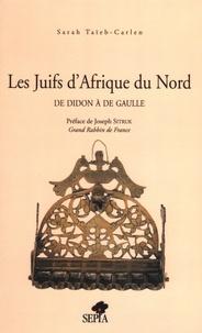 Deedr.fr Les Juifs d'Afrique du Nord. De Didon à de Gaulle Image