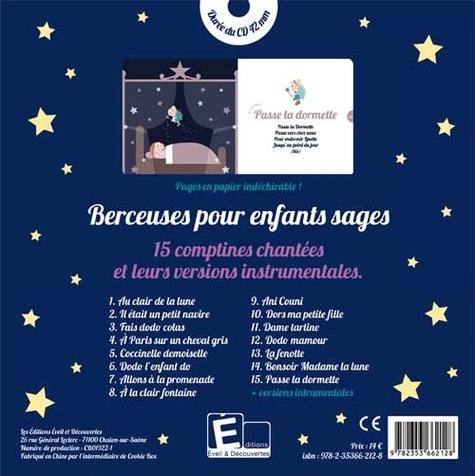 Berceuses pour enfants sages  avec 1 CD audio