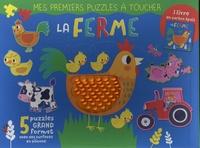 Sarah Wade - La ferme - Avec 5 puzzles grand format.