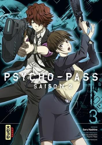 Saru Hashino - Psycho-Pass Saison 2 - tome 3.