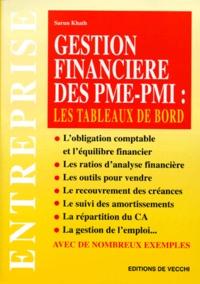 Deedr.fr Gestion financière des PME-PMI - Les tableaux de bord Image