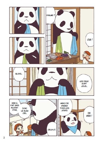Pan'pan panda Tome 1