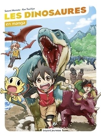 Satomi Momota et Ken Tsuchiya - Les dinosaures en manga.