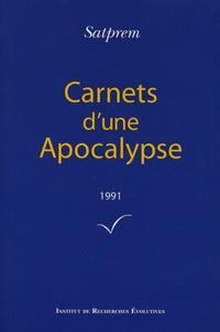 Satprem - Carnets d'une Apocalypse - Tome 11 (1991).