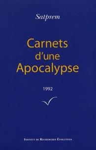 Satprem - Carnets d'une Apocalypse - Tome 12 (1992).