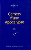 Satprem - Carnets d'une Apocalypse - Tome 4 (1984).