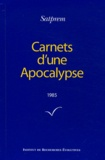 Satprem - Carnets d'une Apocalypse - Tome 5 (1985).