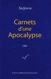 Satprem - Carnets d'une Apocalypse - Tome 7 (1987).