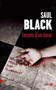 Saul Black - Leçons d'un tueur.