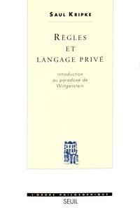 Saul Kripke - Règles et langage privé - Introduction au paradoxe de Wittgenstein.