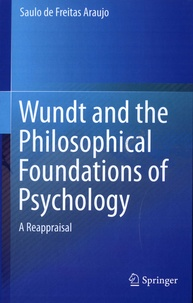 Deedr.fr Wundt and the Philosophical Foundations of Psychology - A Reappraisal Image
