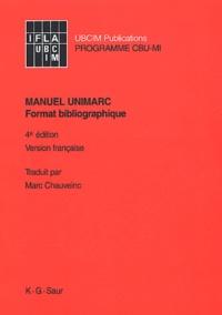 Deedr.fr Manuel UNIMARC - Format bibliographique, 4ème édition Image