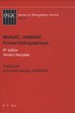 Saur (K-G) - Manuel Unimarc - Format bibliographique.