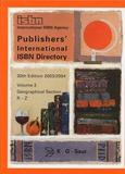 Saur (K-G) - Publisher's International ISBN Directory - Volume 2 R-Z.