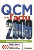Savary - QCM Toute l'actu 2009 - France, Europe, Monde.