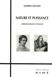 Nature et puissance - Giordano Bruno et Spinoza.pdf