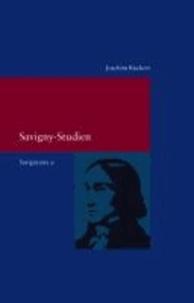 Savignyana 09. Savigny-Studien - Savignyana. Texte und Studien.