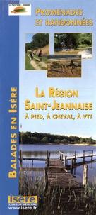Conseil général de l'Isère - La région Saint-Jeannaise à pied, à cheval, à VTT - Promenades et randonnées.