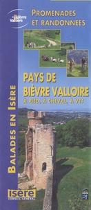 Conseil général de l'Isère - Pays de Bièvre Valloire à pied, à cheval, en VTT - 1/50 000.