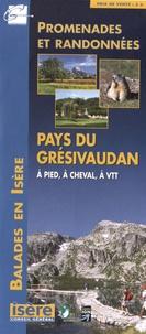Conseil général de l'Isère - Pays du Grésivaudan - 1/35 000.