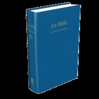 SBL - La Bible Segond 21 - Edition rigide similicuir bleue.