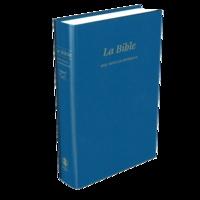 SBL - La Bible Segond 21 - Edition rigide similicuir bleue.