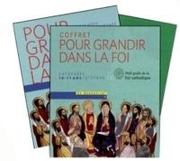 SCD Paris et  SDC Fréjus-Toulon - Pour grandir dans la Foi CM2 - Coffret en 2 volumes.